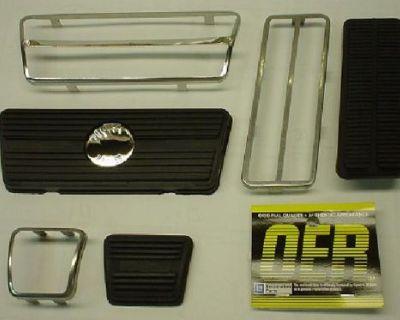 1969 - 1981 Camaro Disc Brake Pedal Pad Kit * 1970-1981 Firebird *1970-1971 Nova