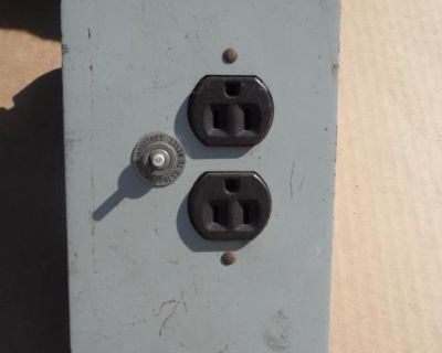 VW Westy Camper Van Electrical Plug In Box