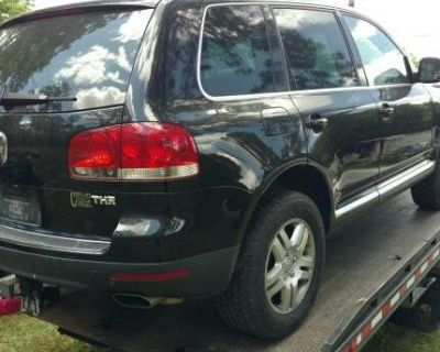 V10 TDI VW Touareg for salavage only