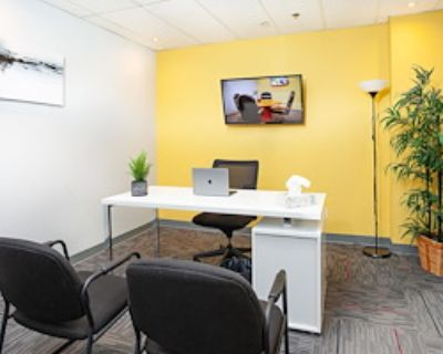 Private Office for 3 at Metcalfe Centre - TCC Canada