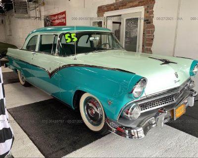 Salvage Blue 1955 Ford Fairlane