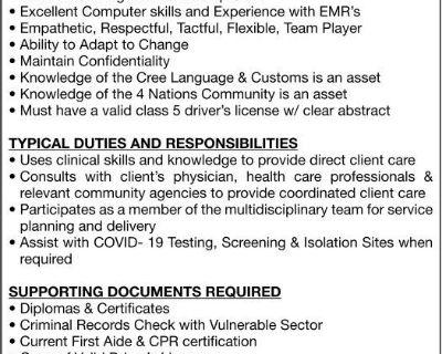MASKWACIS HEALTH SERVICES BO...
