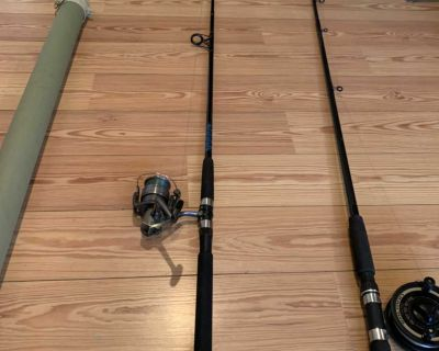Daiwa wave rod and spinning reel combo