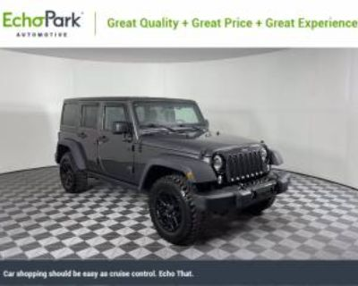 2018 Jeep Wrangler Unlimited Willys Wheeler (JK)