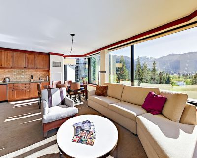 Resort at Squaw Creek Corner Unit Suite with Wrap-Around Views - Olympic Valley