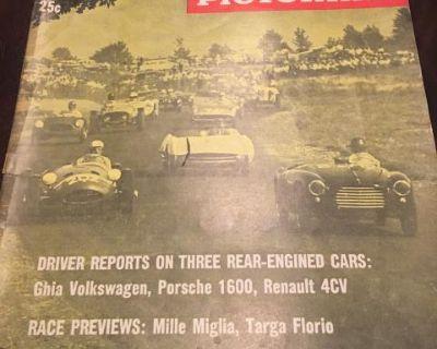 Lowlight Ghia Sports Car Pictorial Summer 1956