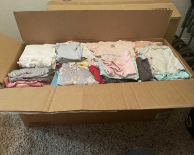 0-9 month Girl Lot