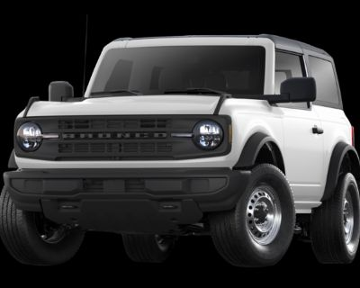 New 2021 Ford Bronco Badlands 4WD Convertible