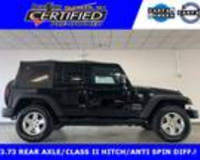 2013 Jeep Wrangler Unlimited Sport SOFT TOP 4X4!