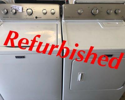 Refurbished Maytag Centennial Washer/220volt Dryer