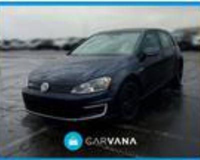 2016 Volkswagen e-Golf Blue, 44K miles