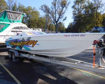 1997 Powerplay Powerboats 28 Sport Deck