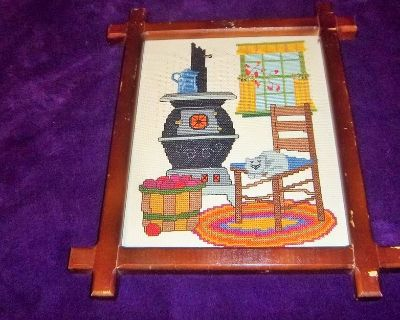 Needle point Old Fashion picture