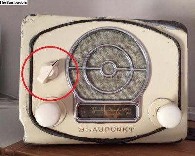 [WTB] Blaupunkt A51L Radio Arrow Knob
