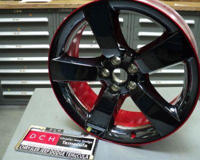 New 2013 Dch Dodge Challenger Charger Rallye Redline Edition Wheels Mopar 20'