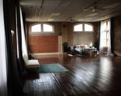 Historic loft style studio, GAINESVILLE, GA