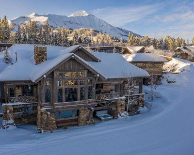 Custom Luxury Ski Chalet, Gorgeous Views, new owners, sleeps 22, 6 B/R 6 Bath - Big Sky