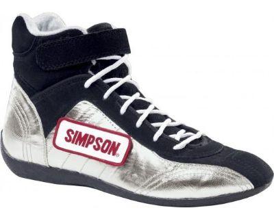 Simpson Racing Speedway Heat Shield Driving Shoes Sfi 3.3/5 - Free Shipping