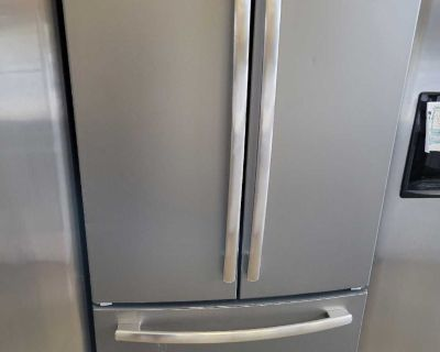 GE Stainless French Door Refrigerator-5966
