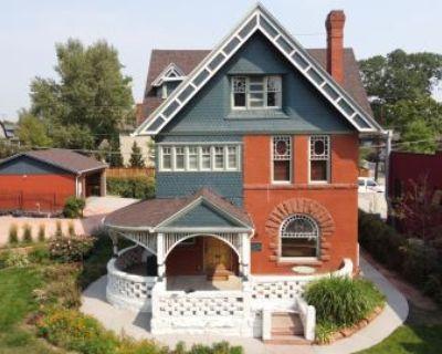 Light Filled Historic Downtown Pioneer Mansion, Denver, CO