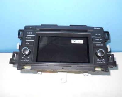 2013 14 Mazda 6 Touchscreen Cd Gps Radio Gjs1 66 Dv0a