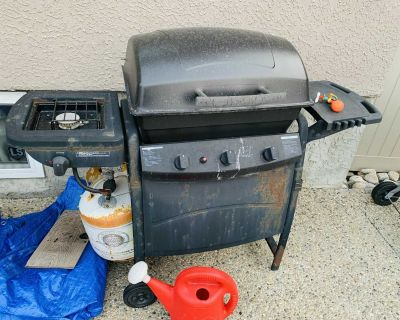 BBQ grill Free - not include propane tank