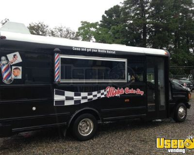 NEW BUILD Ford E450 Custom Mobile Hair Salon and Barbershop Truck
