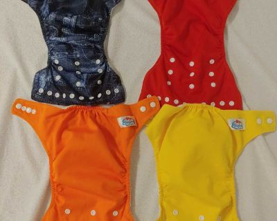 Baby Land Cloth Diapers and Inserts