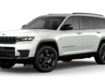 New 2021 JEEP Grand Cherokee L Laredo 4x4 Sport Utility