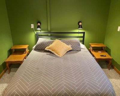 Pet-Friendly Queen Bedroom in Downtown Fargo - Fargo
