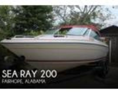 Sea Ray - 200 Bowrider