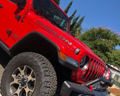 California - 2021 Rubicon Wheels and Tires Set of of 5 (6300miles) $900obo