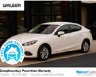 2016 Mazda MAZDA 3 White, 73K miles