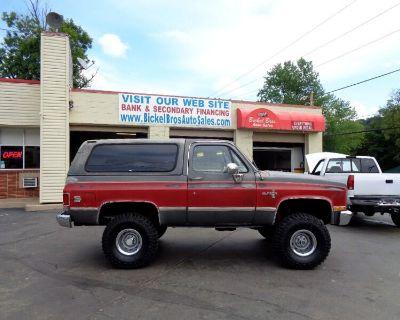 1986 Chevrolet C/K 10 Blazer 4WD