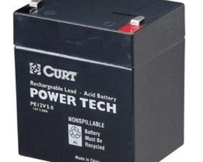 Curt 52023 Sealed Lead Acid 12 Volt Battery