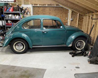 1966 Volkswagen Beetle 1300 European Delivery