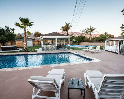 Outdoor Oasis w/ Pool, Sauna, Jacuzzi, Sport Court - Glendora