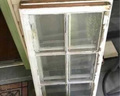 Older Wood windows $10 Each 36X20 (Make decor out of them) All have glass , I have 6 available