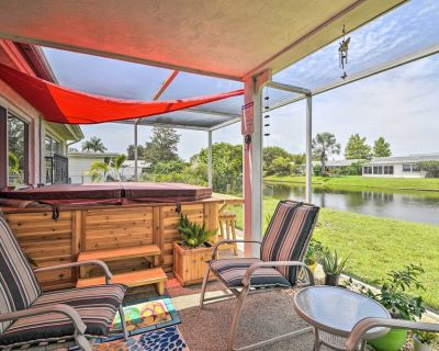 NEW! Waterfront House w/ Hot Tub + Pedal Boat! - New Port Richey