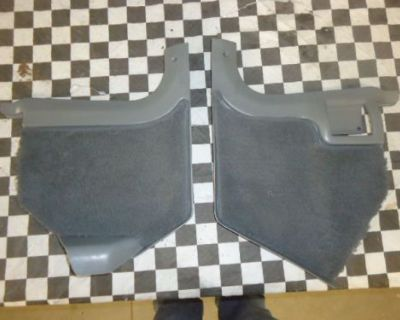1982,83,84,85,86,87,88,89,90,91,92 Trans Am/camaro Gray Kick Panels With Carpet!
