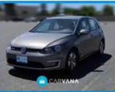 2016 Volkswagen e-Golf Gray, 32K miles
