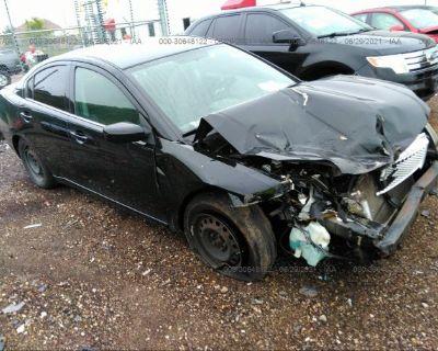 Salvage Black 2011 Mitsubishi Galant