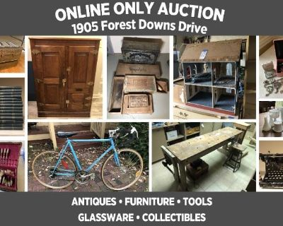 ONLINE ONLY Personal Property Auction Near Georgetown