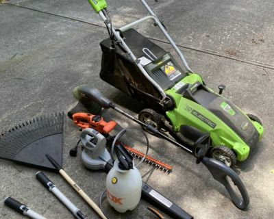 Corded Electric Lawn Care Kit