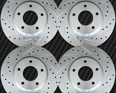 Pontiac Firebird 98-02 Brake Rotors Fr+rr