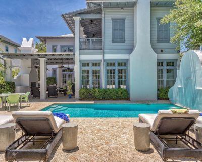 Rosemary Beach Rental w/ PRIVATE POOL & Carriage House + BIKES, Loggia + Parking - Rosemary Beach