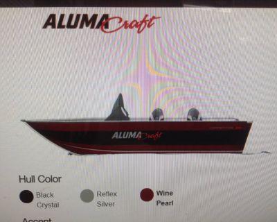 2021 Alumacraft Competitor 165 CS Aluminum Fish Boats Hutchinson, MN