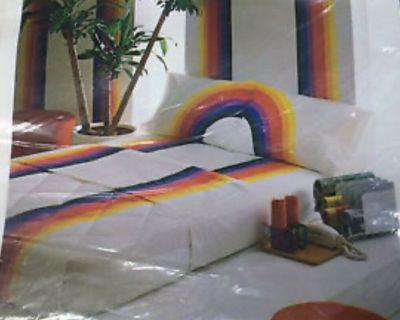 Wamsutta Rainbow King Blankets*Wanted !