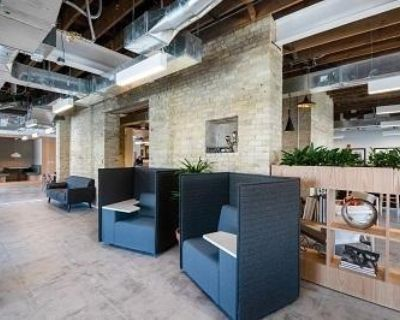 """Private office for 1-2 people ALL INCLUSIVE at """"1433 N Water Street Milwaukee United States"""""""
