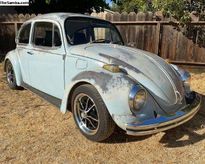 1970 VW Volkswagen Patina Bug. Runs and drives!